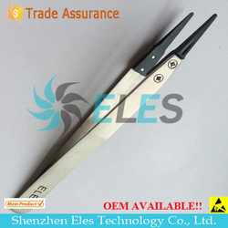 Antistatic esd-14 tweezers