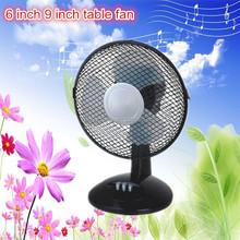 Hot sale HIGH Quality 6inch 9inch CE ROHS PP plastic mini table fan/desk fan low price