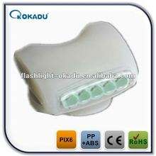 white color 7led bicycle light