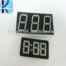 3 digits 7 segment 0.31 inches led display