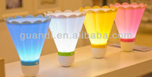 badminton bedside rechargeable battery led night light