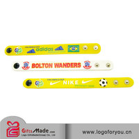 trade assurance custom top quality silicone charm bracelet 2015