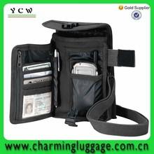 2015 Custom Promotional Venturer Travel Portfolio Bag /mens travel wallet