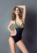 Ladies Swimsuit Padded Push Up Bathing Shirred Bra Bikini Sets Dolly Seperates Women Swimwear Beachwear