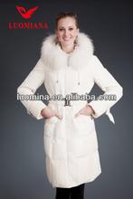 Más reciente de bienes de piel de invierno de la alta calidad brillante de moda de estilo europeo clásico ropa de mujer china venta al por mayor distribuidores