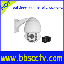 mini 4 inch network 360 degree surveillance high speed dome camera with zoom 10X outdoor