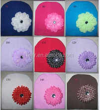 size 19*19cm Can be customized baby cap for kid flower hat 15002
