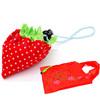 Hot selling straberry shape foldable shopping bag tote bag