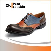 Assorted colors casual shoe bullock fancy men dress shoes