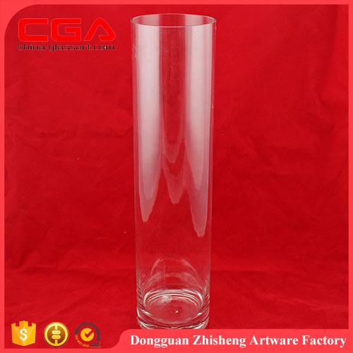 mejor venta caliente de la manera floreros de cristal altos jarrones de cristal floreros de cristal