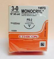 Ethicon Y497G MONOCRYL Suture Precision Point