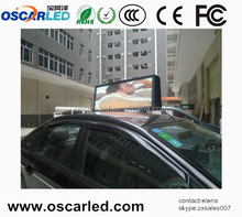 Multifunctional p5 outdoor taxi top led xxx video display/led screen xxx picture with high quality
