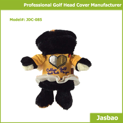 Manufacture Supply Cute Animal Golf Club Head Cover For Driver