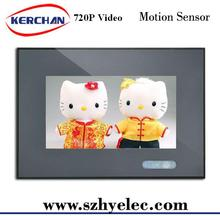 """7"""" supermarket shelf easy management high quality lcd digital player support 720P video format"""