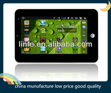 8 inch android 4.0 AllWinner A13,1.2GHz 512MB 4GB WIFI Capacitive Touch Screen tablet pc