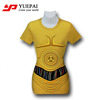 2014 high quality fashion brand sublimation printed cotton xxxl sex women t shirt