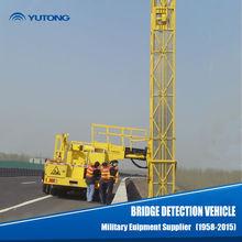 Gru utilizzata del camion/21m operativo ponte van/ponte di rilevamento 21m veicolo