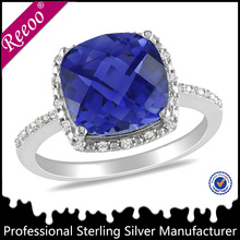 Fashion ring design 925 sterling silver price per gram