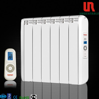 1500W Flat Panel Ultra Thin indor White Electric Radiator with remote control