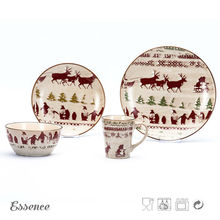 Reasonable price christmas dinnerware set