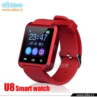 2015 New Bluetooth Smart Watch U8 WristWatch U8 Watch for iPhone 5S Samsung S4/Note 2/Note 3 Android Phone Smartphones