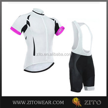 Custom servcie bike shorts and jersey/complete cycling clothing/black mens cycle shorts