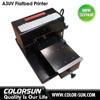 a3 flatbed uv ink printer led uv printer print on phone case, ceramiac, leather, metal and so on
