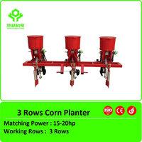 High efficiency 3 rows corn planter/precision corn seeder/maize planter equipment