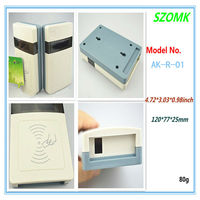 China Newest electronic plastic standard card reader enclosure