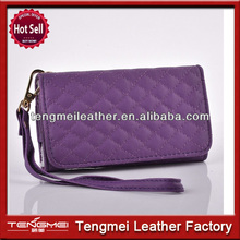 2014 hot sales purple coach wrist case for samsung S5