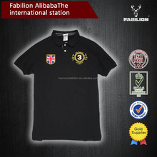 Alibaba china men's high quality plus size oem polo shirt