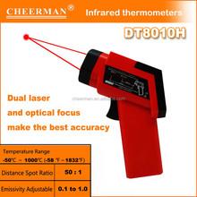 Cheerman manufacturer digital infrared laser thermometer DT8011H