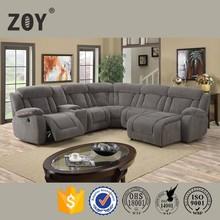 Zoy Modern Fabric Round Corner Sofa Funetional,very Comfortable Sectional sofa,5 Seater Sofa Set 98670