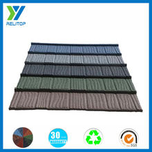 Varied colors roofing sheets/colorful stone coated steel sheet roofing tile