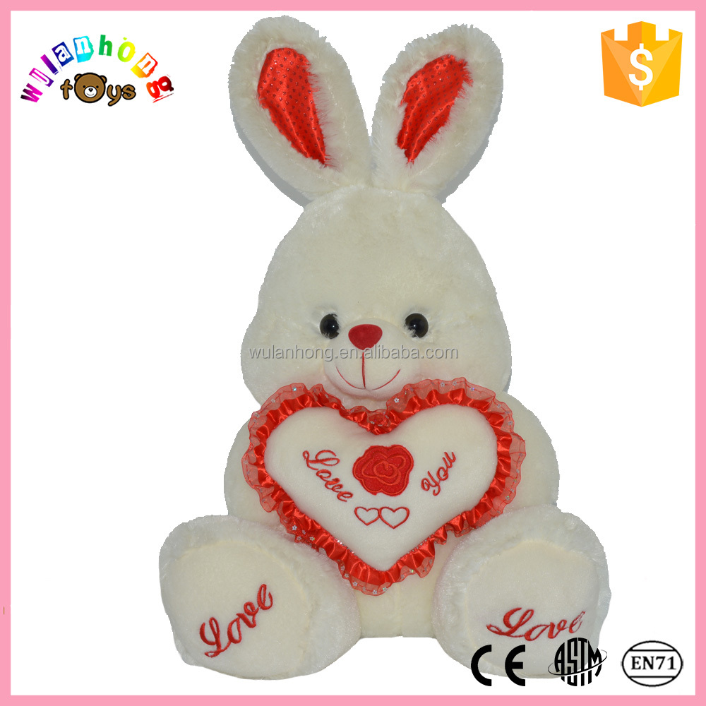 2015 10'' Height Custom Cheap Plush Toy Rabbit For Sale ...