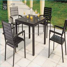Dining table and chair-7pc large outdoor dining tables and chair set