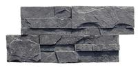 Nature Black Culture Stone,China Black Slate Cultured Stone