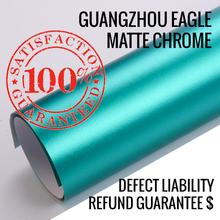 Shine cover vehicle wrap 0.17mm matte chrome / cover chrome / matte chrome