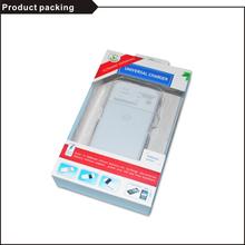 Black&white LED indicated universal charger 3.7v mobile phone battery