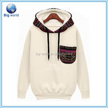 Women jacquard hooded sweater, winter pullover thicken sweatshirt with hooded