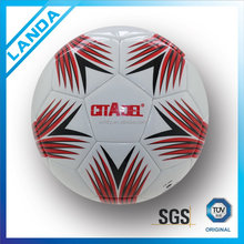 wholesale custom design PVC machine sititched soccer ball