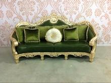 danxueya- foshan hot nice new french style leather sofa/ genuine leather sofa set/italian antique style sofa
