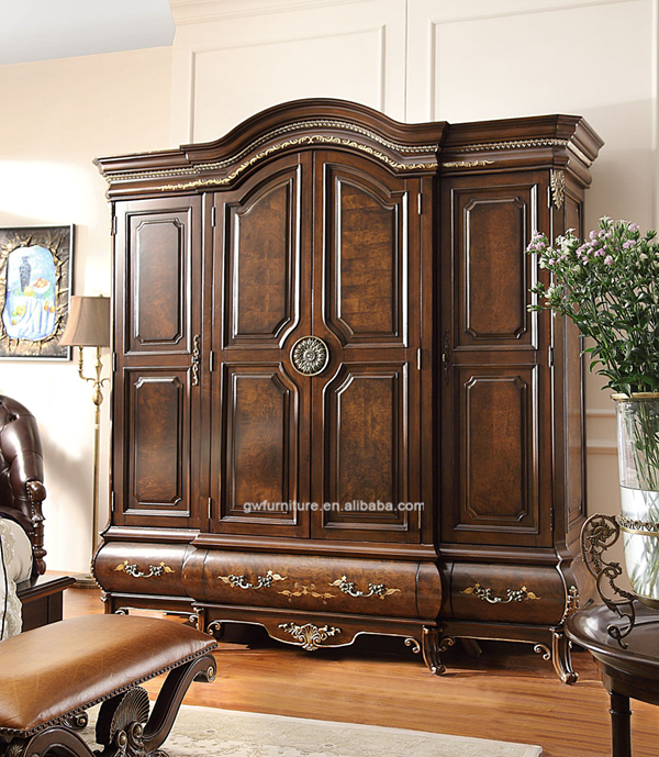 Wholesale Oversized Furniture For Heavy People Antique Bedroom Furniture Set Wa151