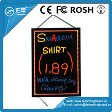 Your best Choice Magic Board CE/ROHS/FCC Neon Effect Drawing Board 90 Flashing Modes Drawing Writing Board