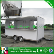 Europe Market Fast Food Cart for sale