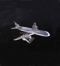 Delicate 3D Crystal Plane Boeing 747