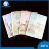 Custom Design Wholesale Notebook With Plastic Cover
