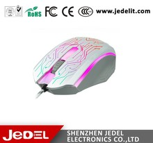 USB Wired Backlit Gamers Mice Computer Gaming Mouse 2400 DPI Optical Mouse