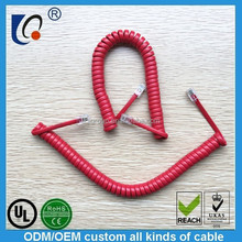 Liqi pure copper aerial telephone cable low voltage spiral telephone cable joint