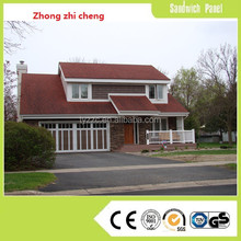 Two floor villa with light steel structure
